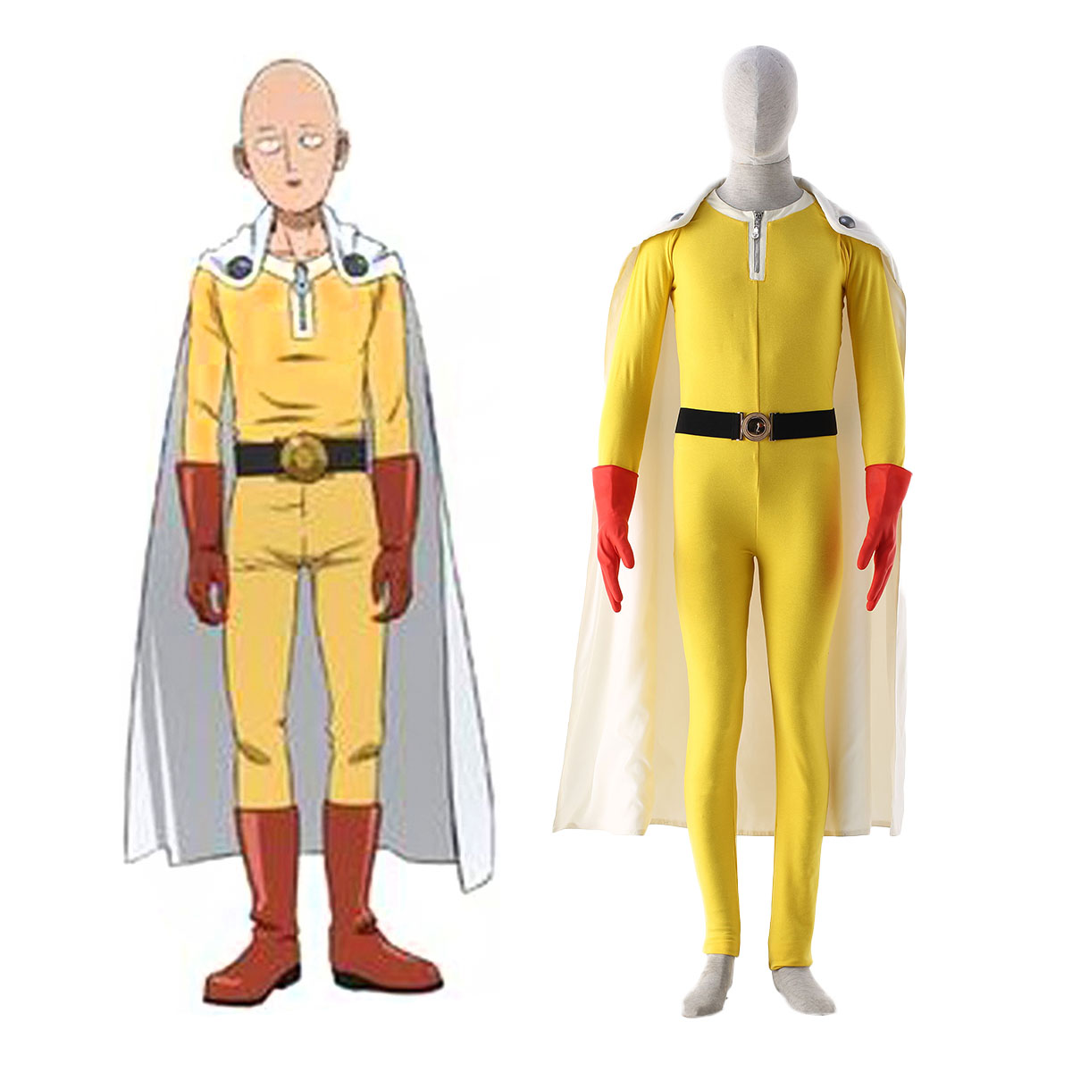 One Punch-man Saitama 1 Cosplay Costumes AU