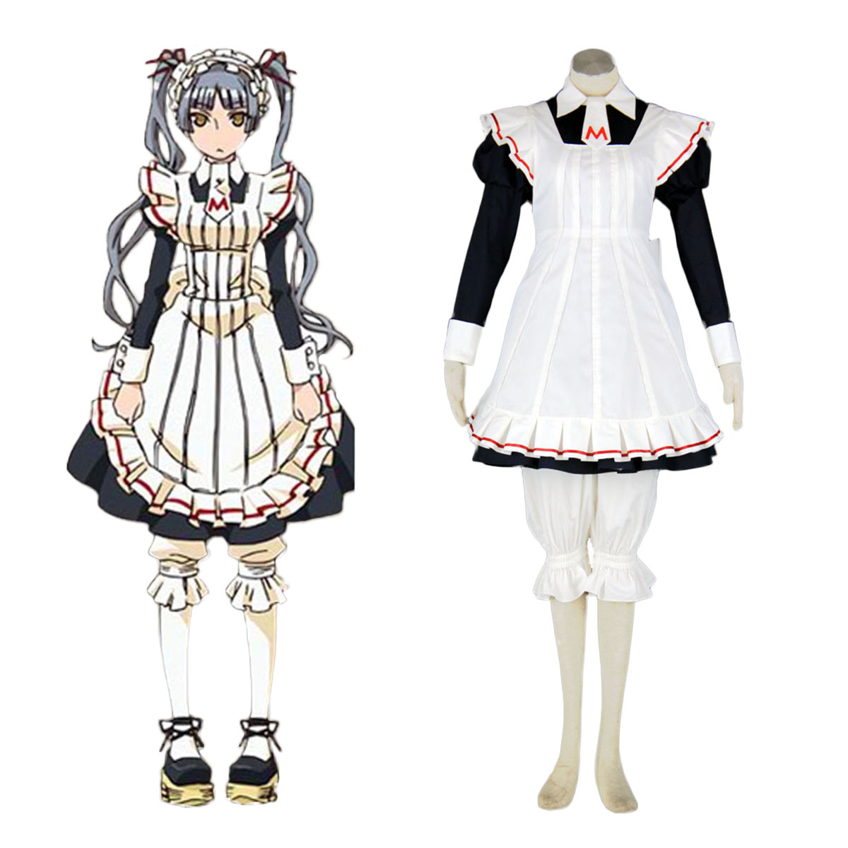 Maria Holic Matsurika Shinōji Maid Cosplay Costume