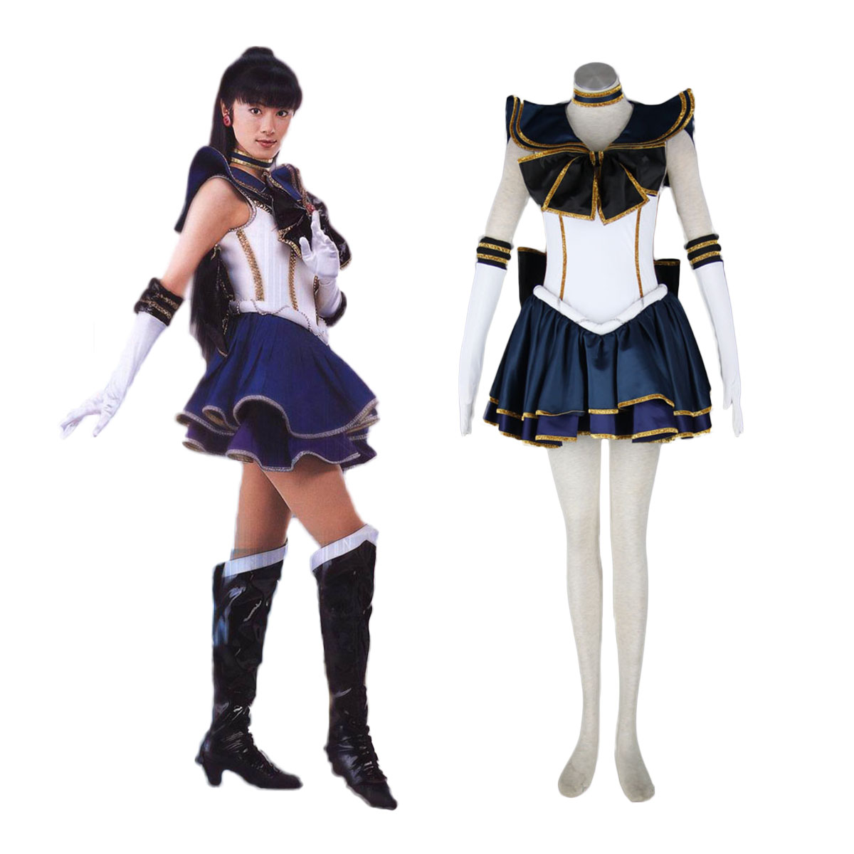 Sailor Moon Meiou Setsuna 2 Cosplay Costumes AU