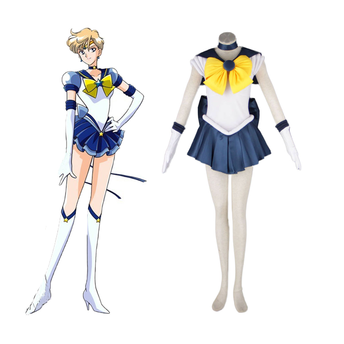 Sailor Moon Tenoh Haruka 1 Cosplay Costumes AU