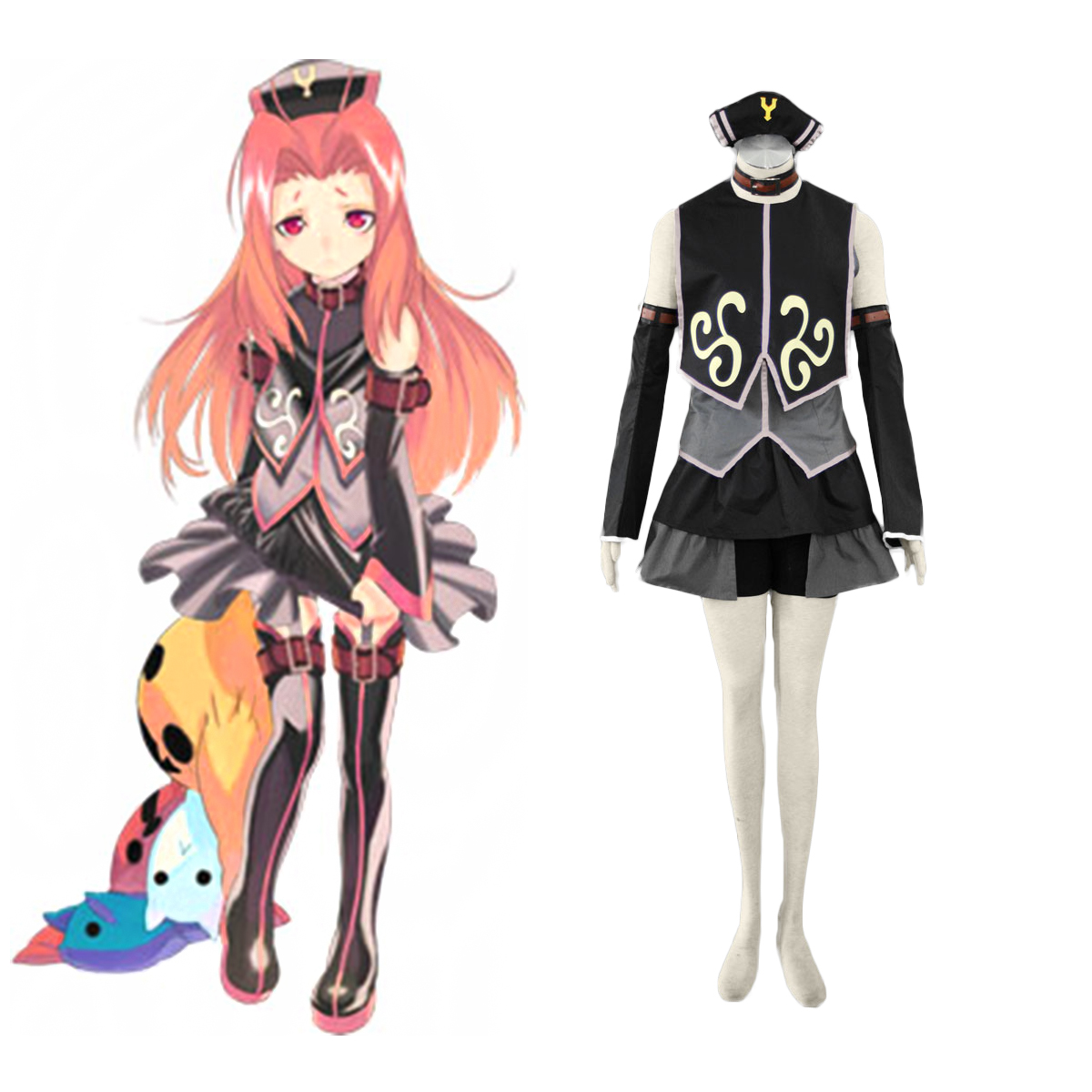 Tales of the Abyss Arietta 1 Cosplay Costumes AU