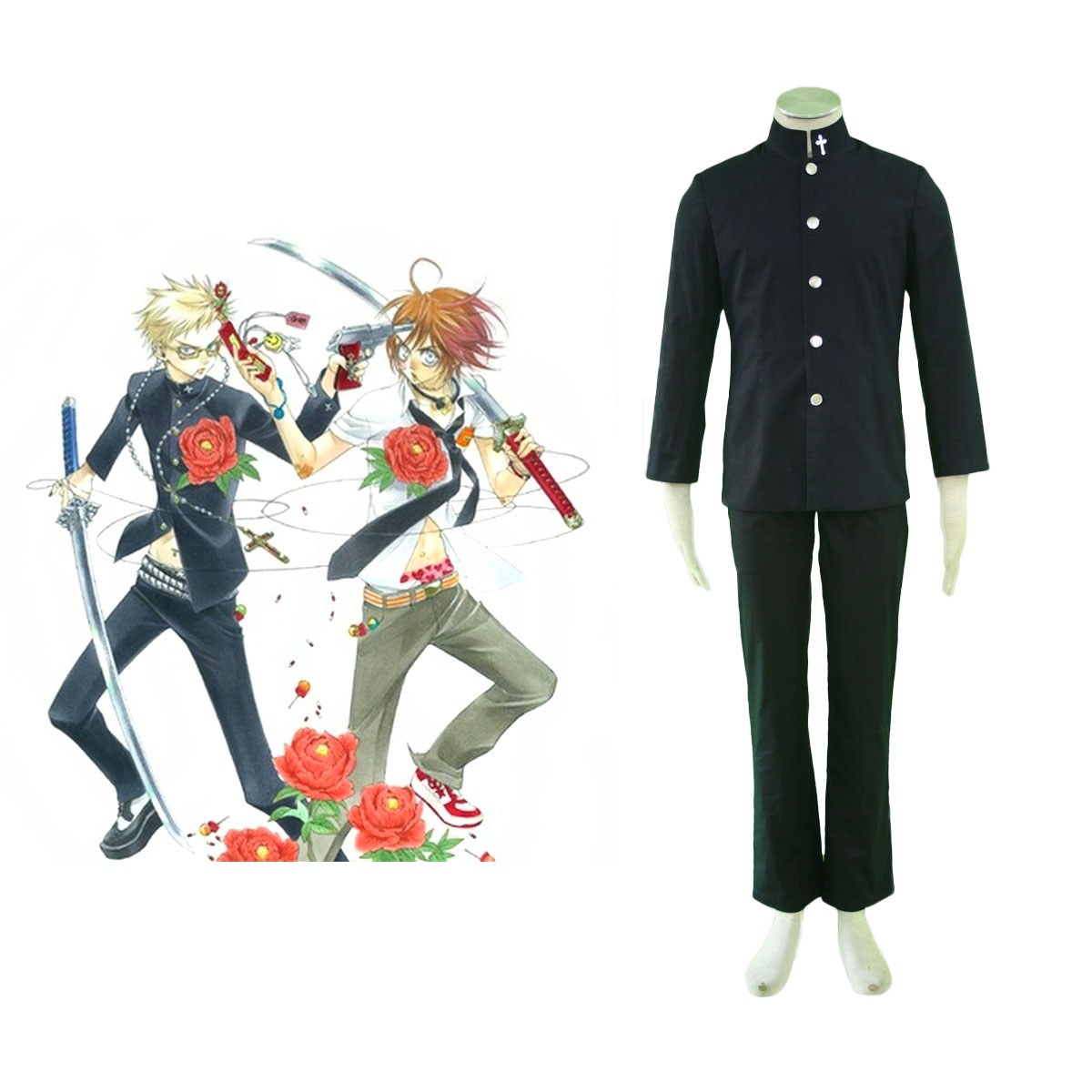 ZONE-00 Shima Cosplay Costumes AU