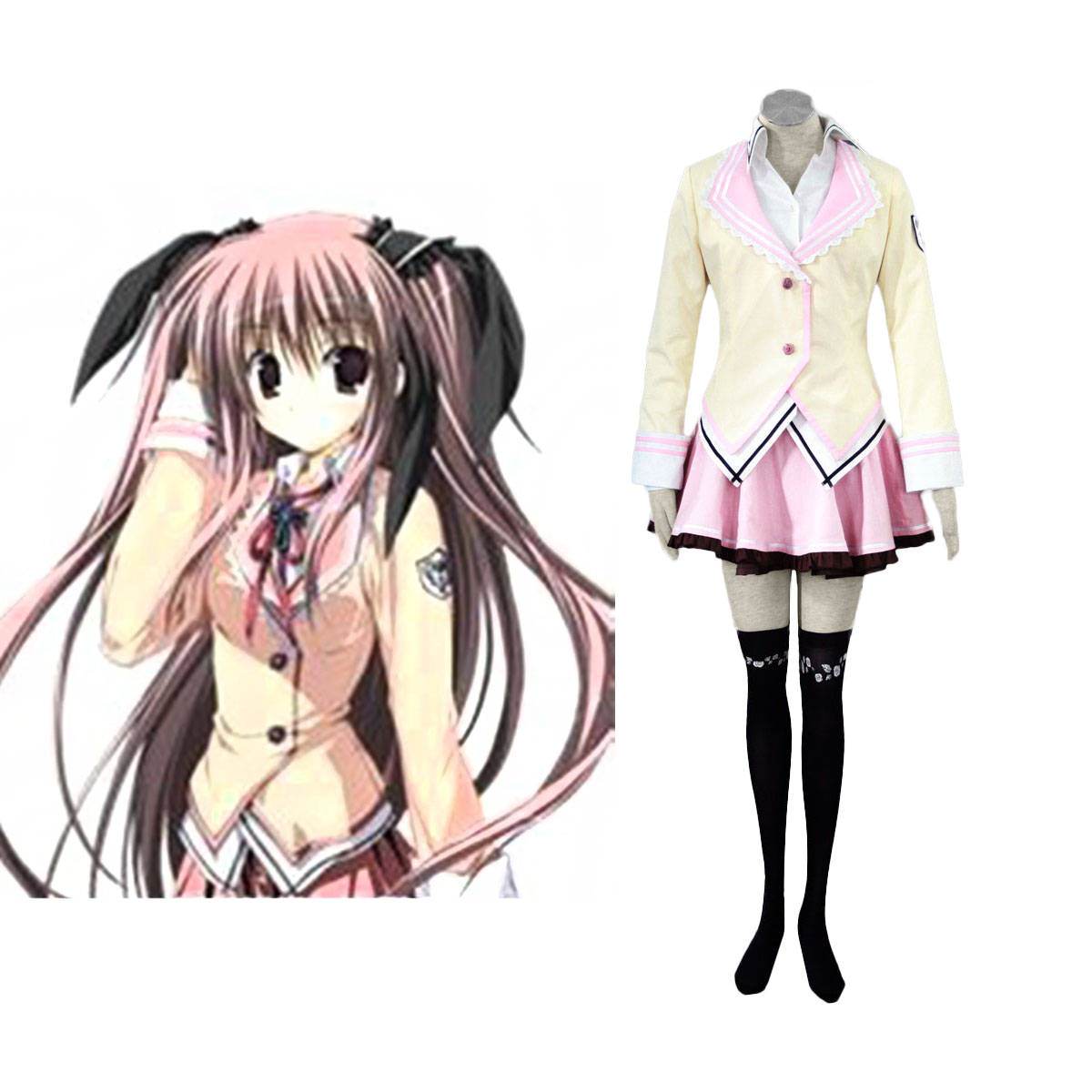 Supreme Candy School Female Uniformes Cosplay Costumes AU