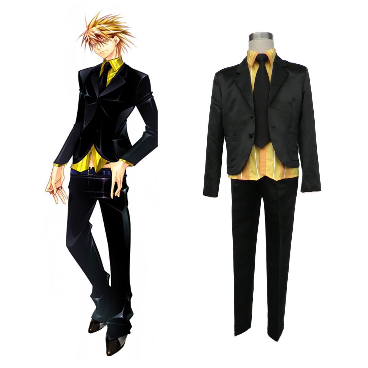 Lucky Dog1 Gian·Carlo 2 Cosplay Costumes AU