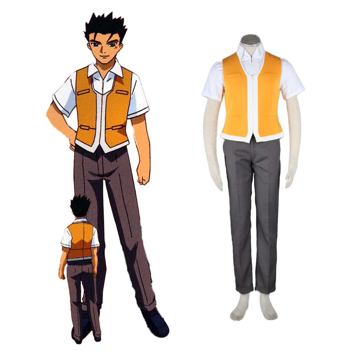My-HiME Male School Uniforms Cosplay Costumes AU