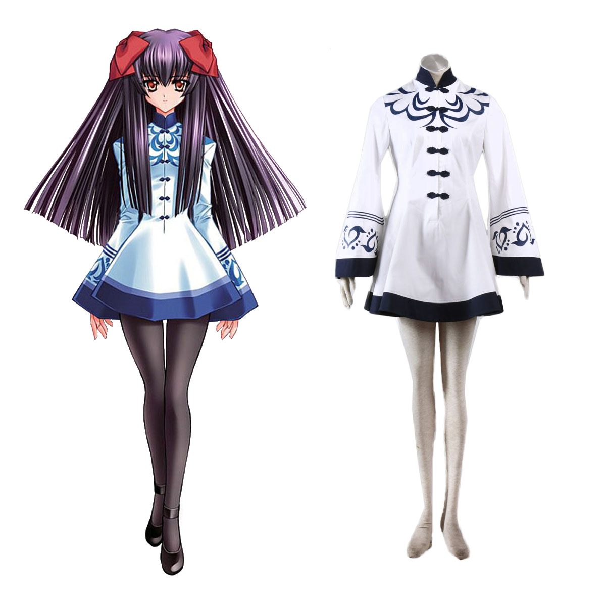 Touka Gettan Winter Female Uniform Cosplay Costumes AU