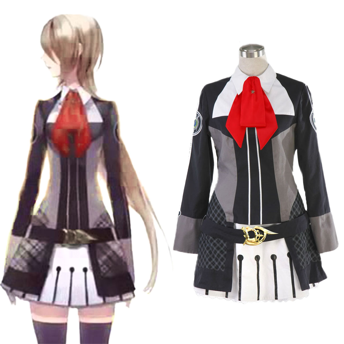 Starry Sky Female Winter School Uniform Cosplay Costumes AU