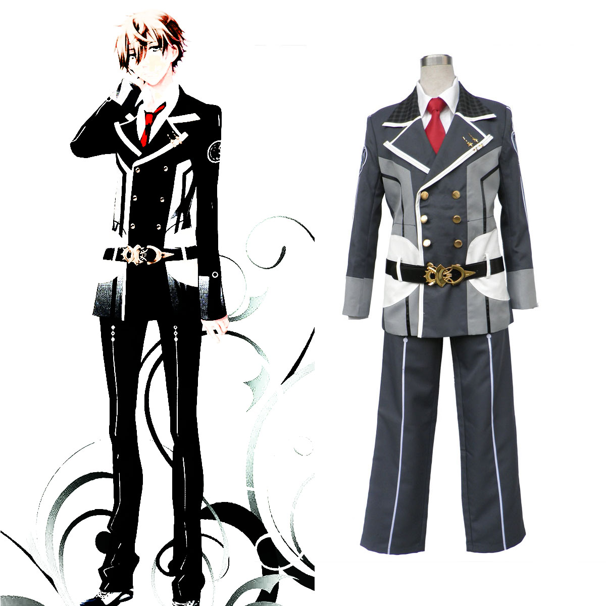Starry Sky Male Winter School Uniform 1 Cosplay Costumes AU