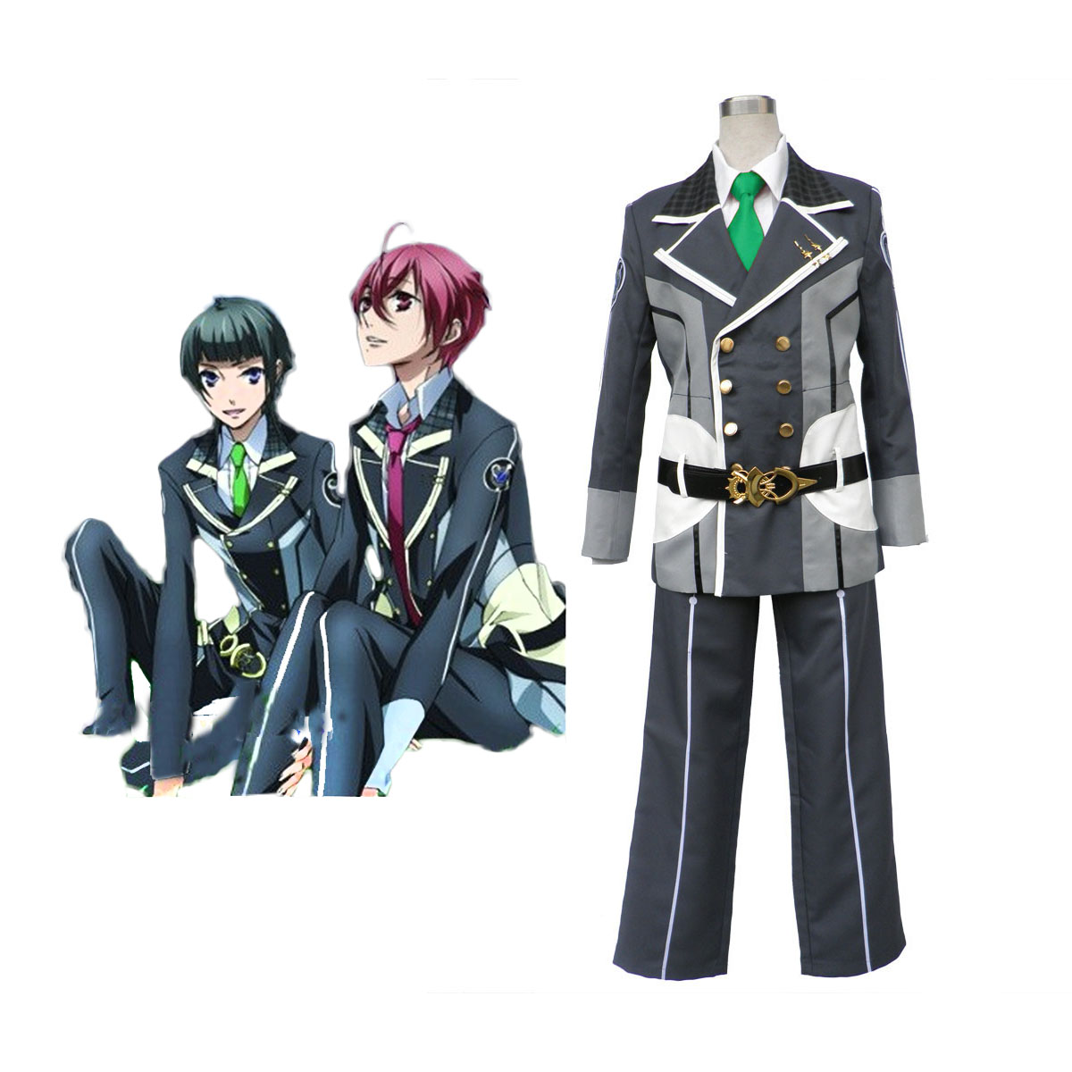 Starry Sky Male Winter School Uniform 2 Cosplay Costumes AU