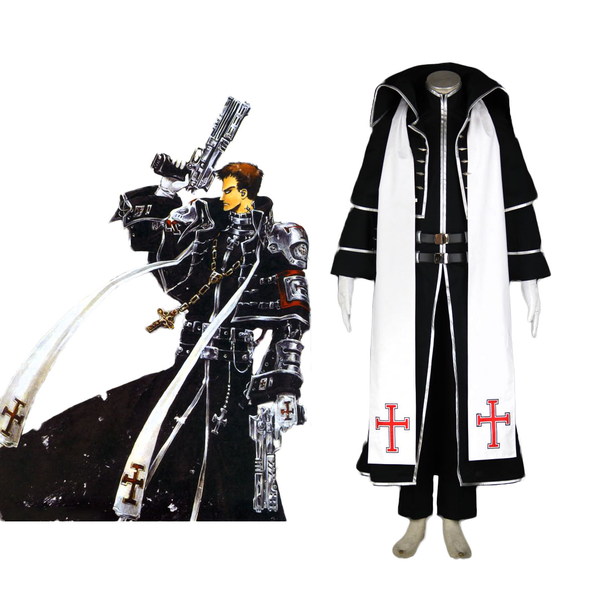 Trinity Blood Tres Iqus 1 Cosplay Costumes AU
