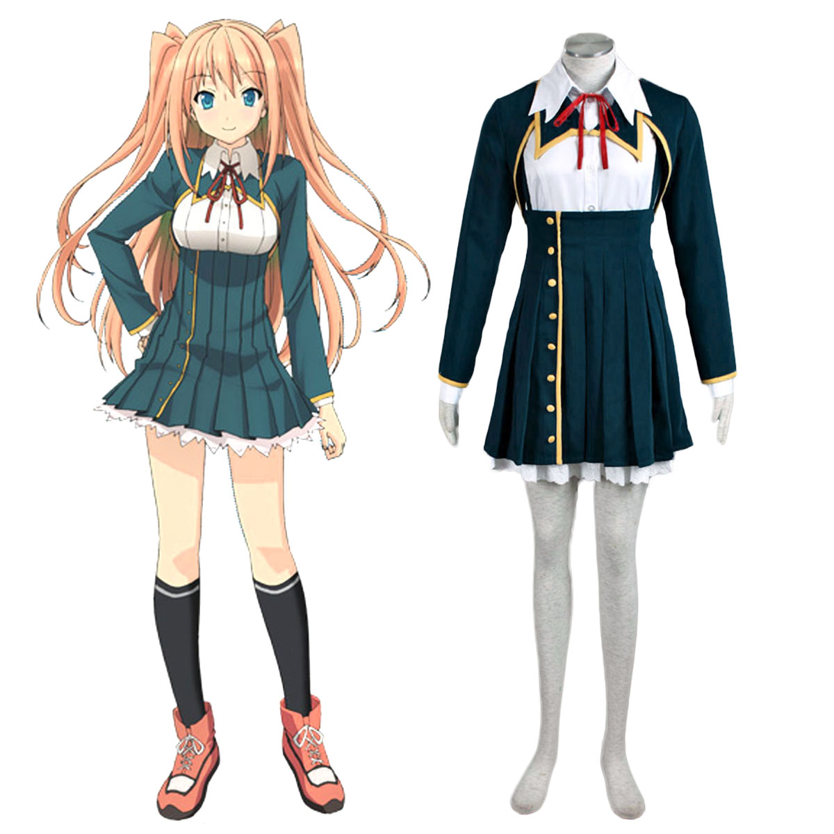 Love, Election and Chocolate Sumiyoshi Chisato 1 Cosplay Costumes AU