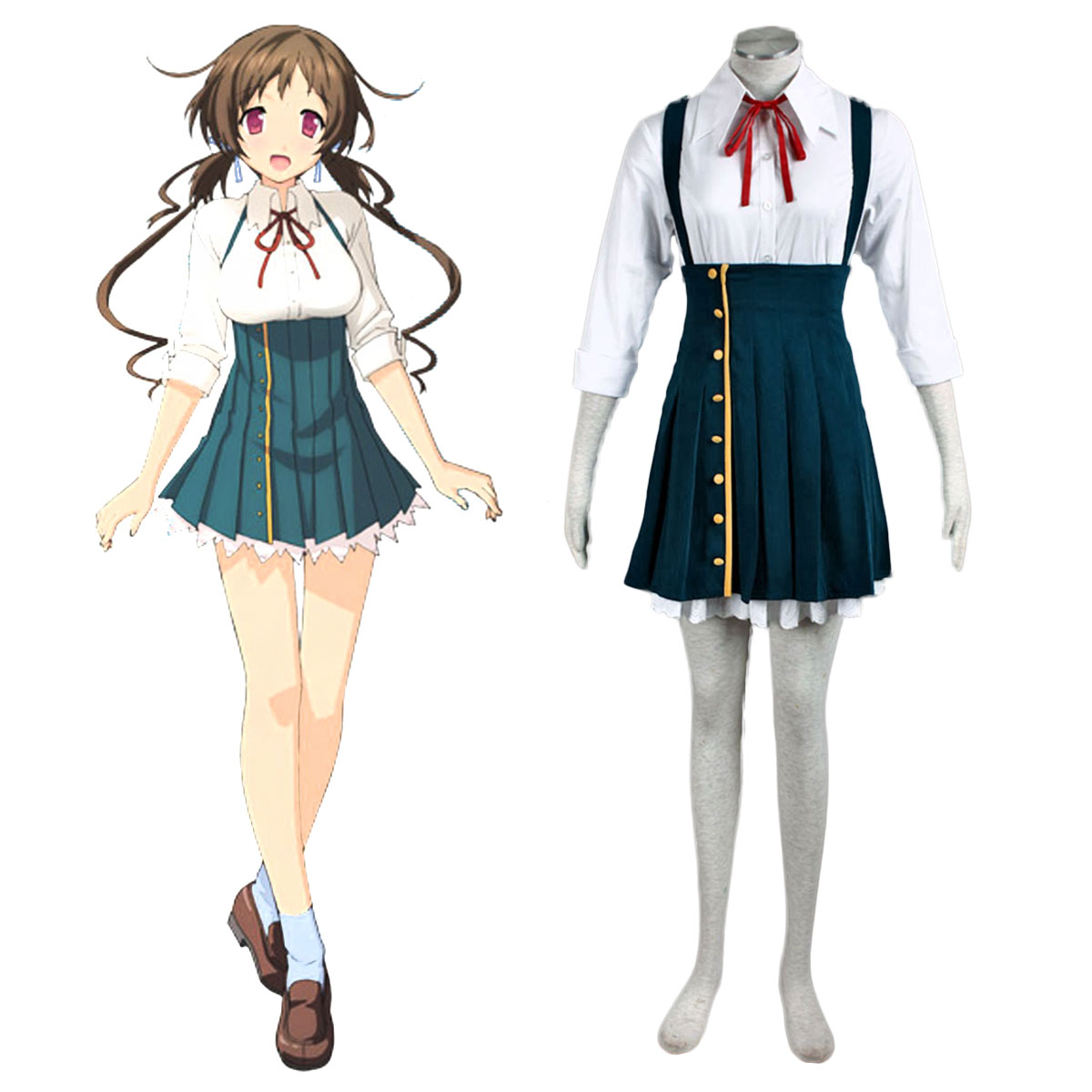 Love, Election and Chocolate Aomi Isara 1 Cosplay Costumes AU