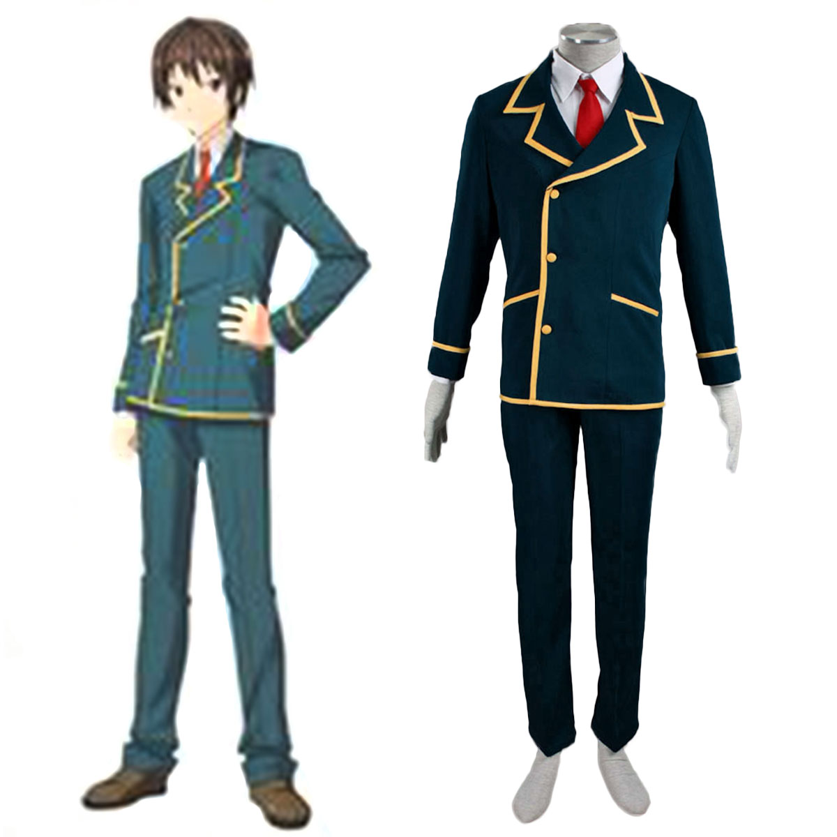 Love, Election and Chocolate Ohjima Yuuki 1 Cosplay Costumes AU