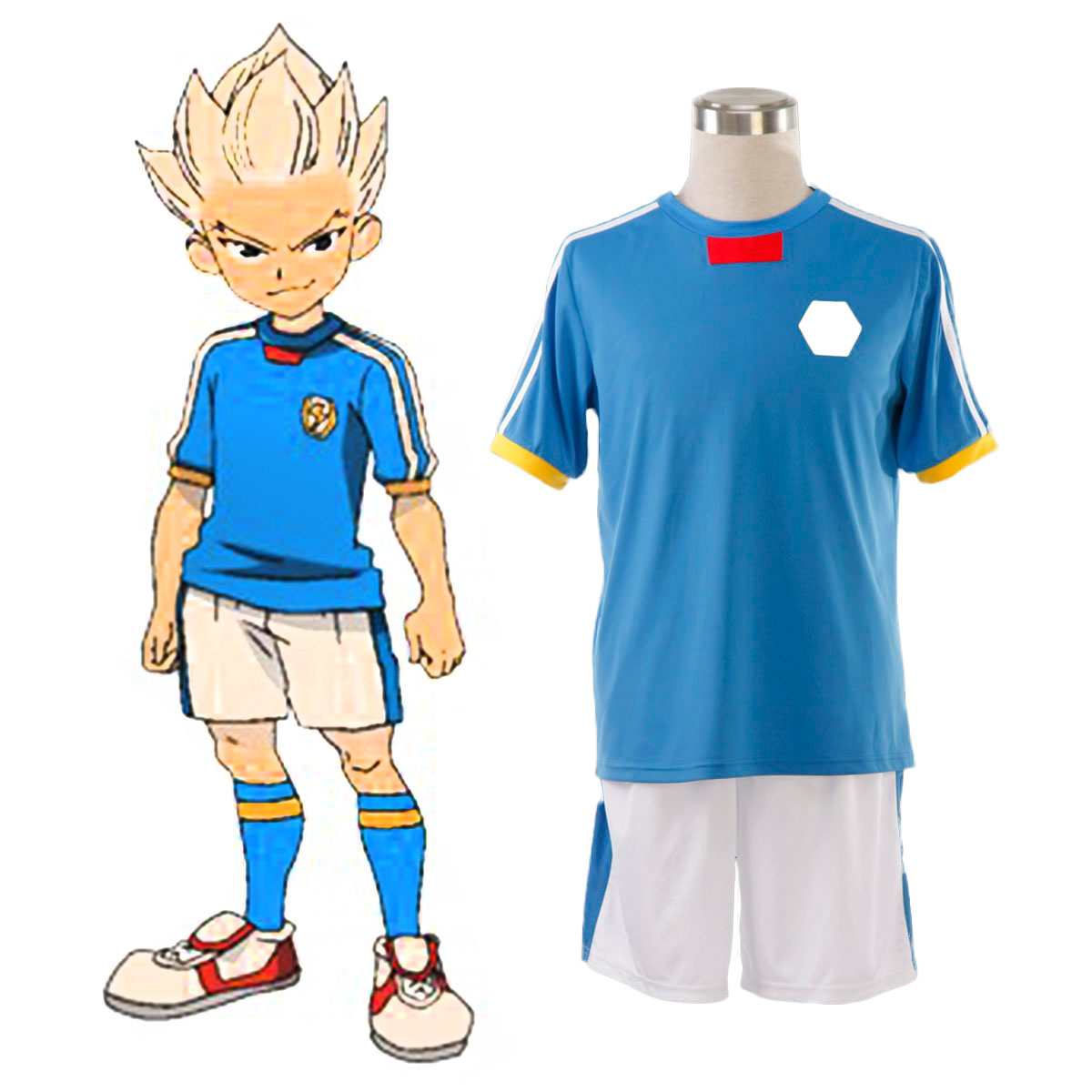 Inazuma Eleven Japan National Team Summer 1 Cosplay Costumes AU