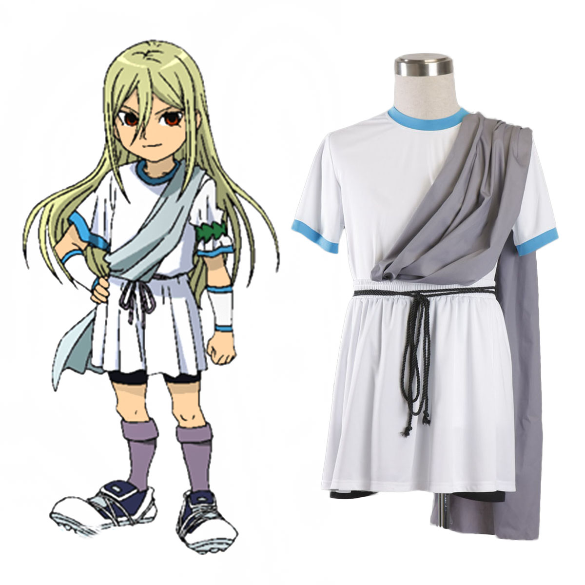 Inazuma Eleven Zeus Soccer Jersey 1 Cosplay Costumes AU