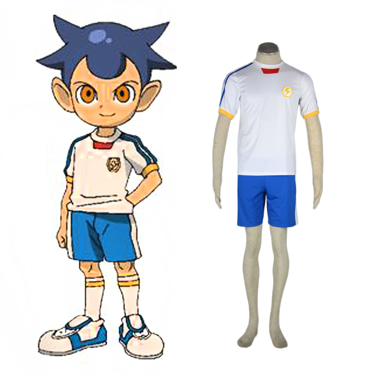 Inazuma Eleven Japan Team Summer 2 Cosplay Costumes AU