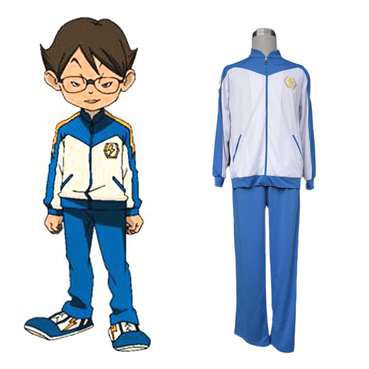 Inazuma Eleven Japan Team Winter 1 Cosplay Costumes AU