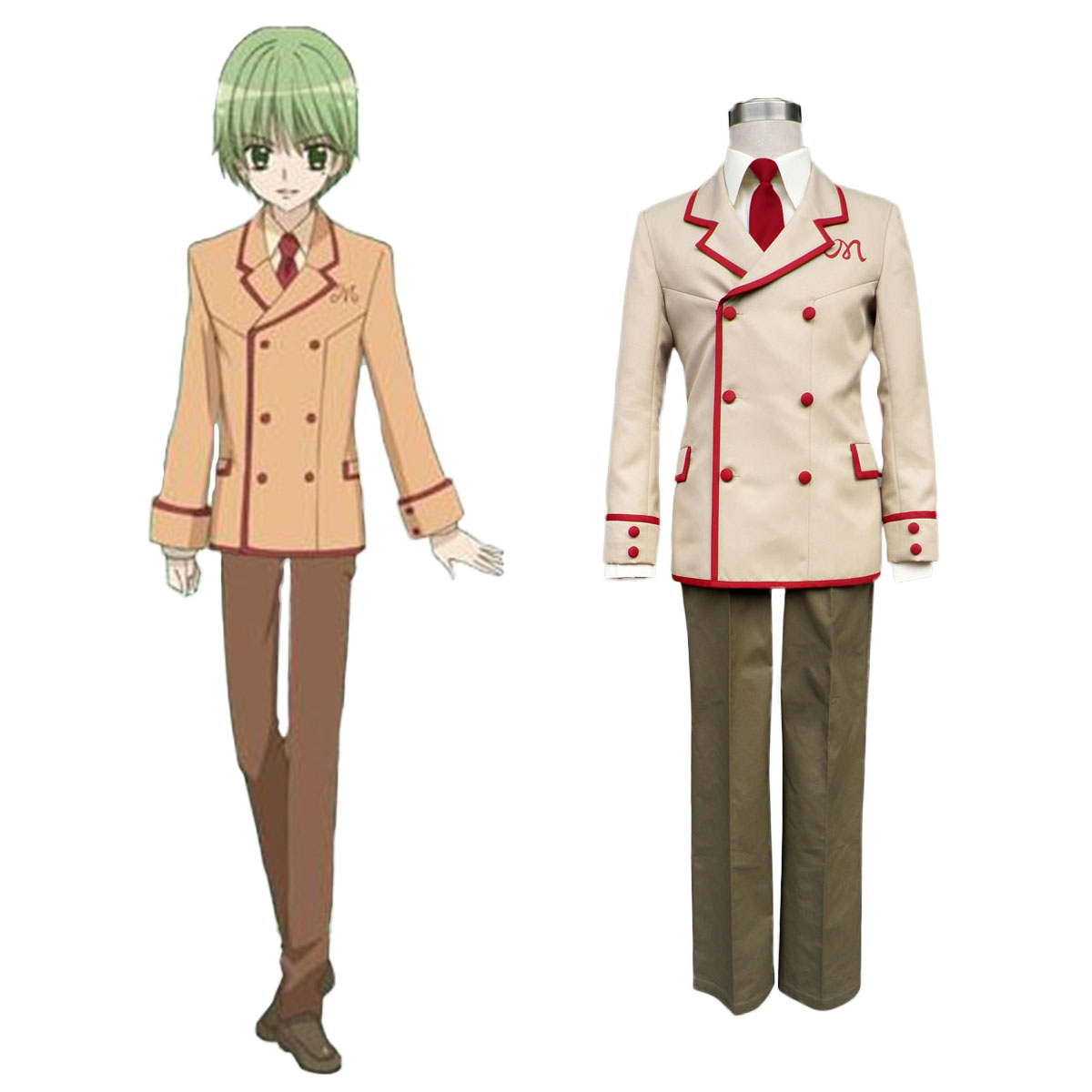 Yumeiro Patissiere Male School Uniforms Cosplay Costumes AU