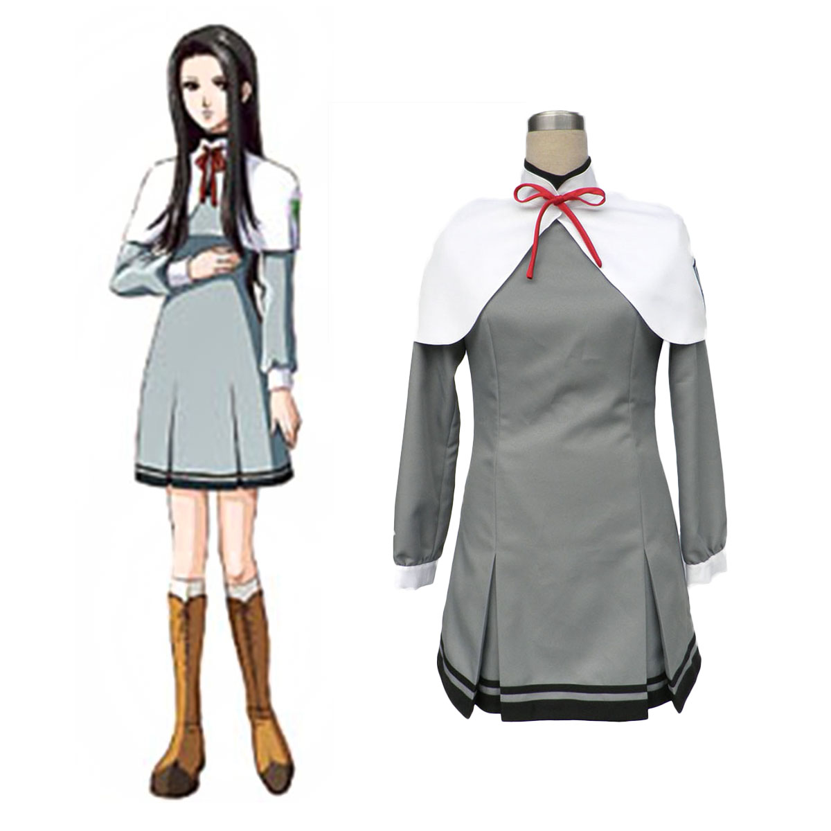Tokimeki Memorial Girl's Side Female School Uniform Cosplay Costumes AU