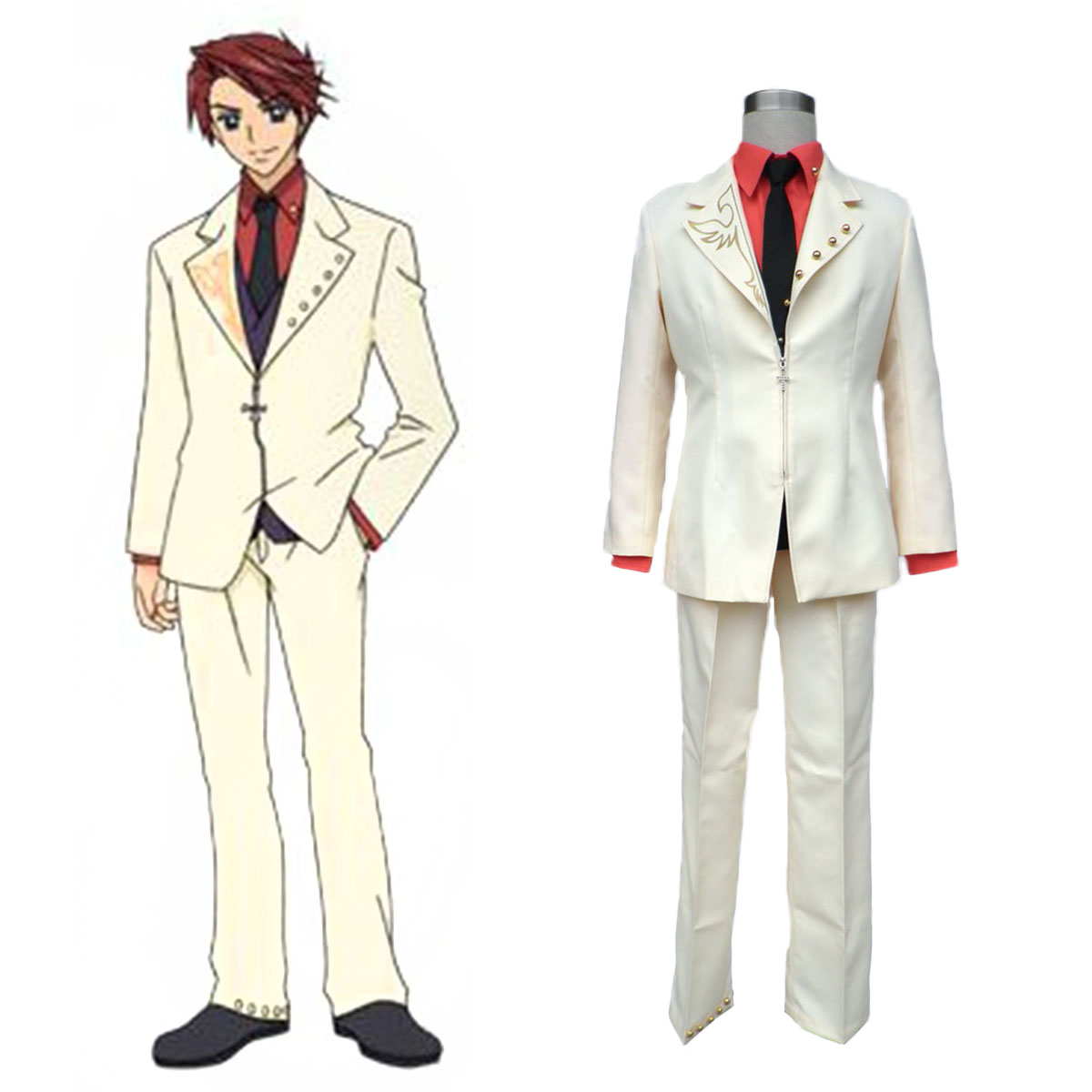 Umineko: When They Cry Battler Ushiromiya Cosplay Costumes AU
