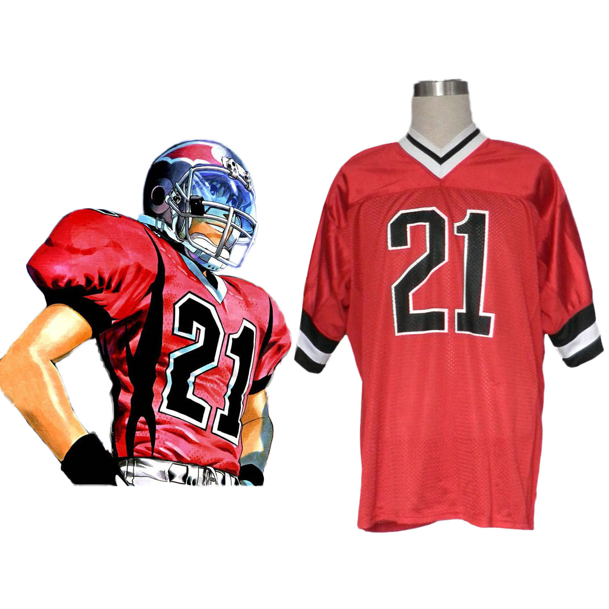 Eyeshield 21 Kobayakawa Sena Cosplay Costumes AU