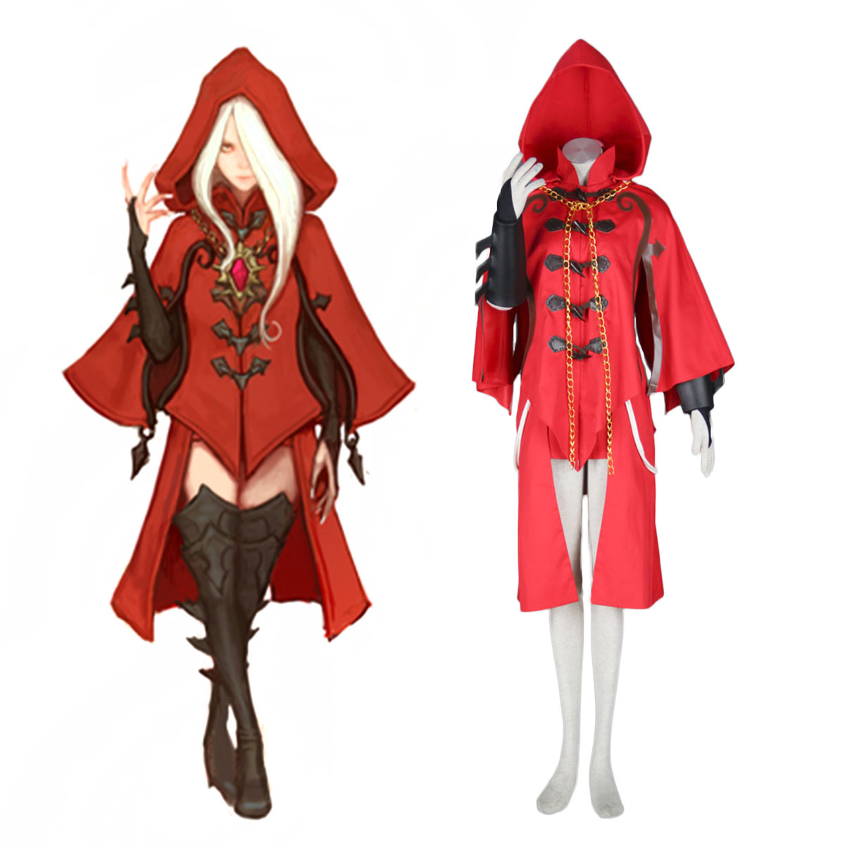 Dragon Nest Argenta Cosplay Costumes AU