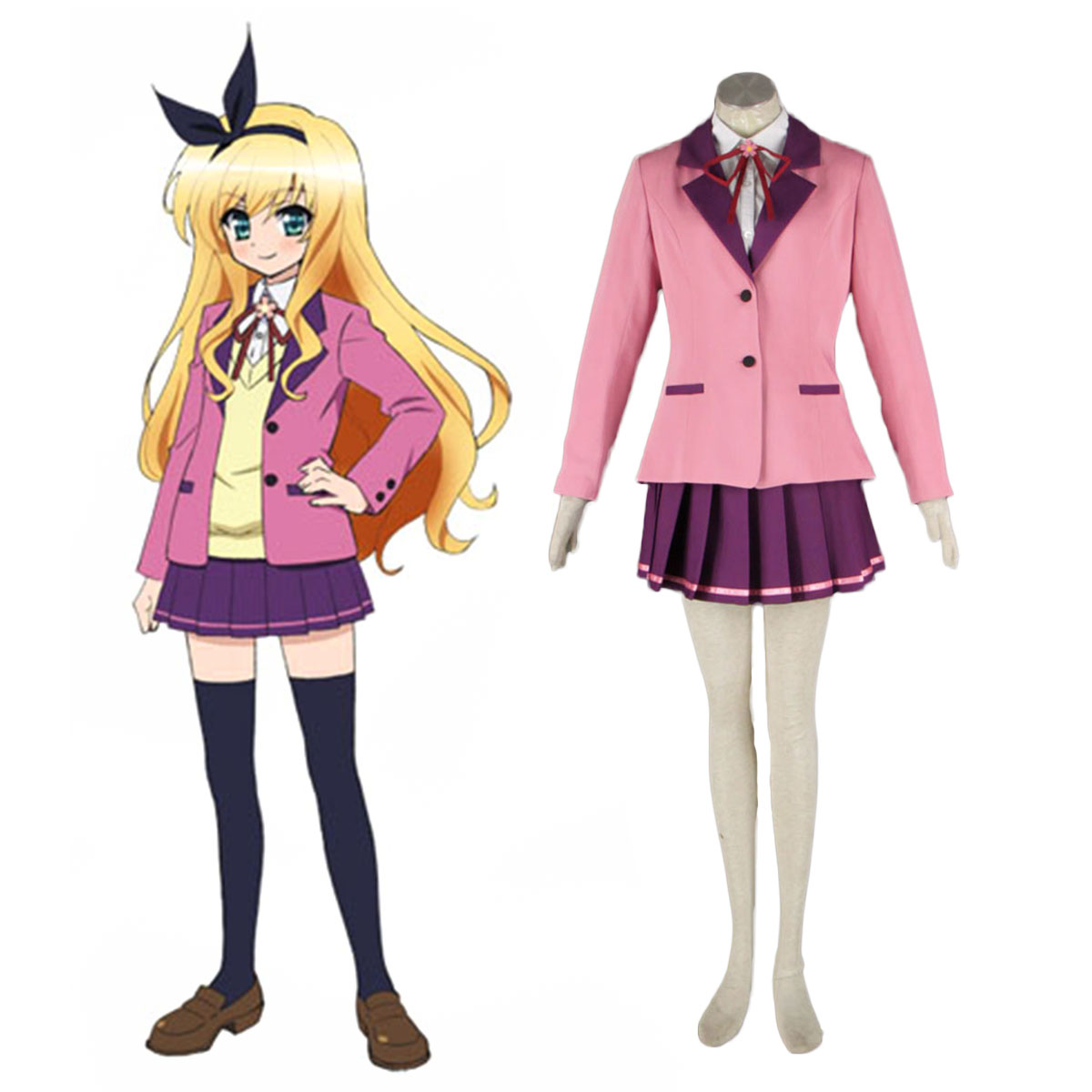 MM! Female Winter School Uniform Cosplay Costumes AU