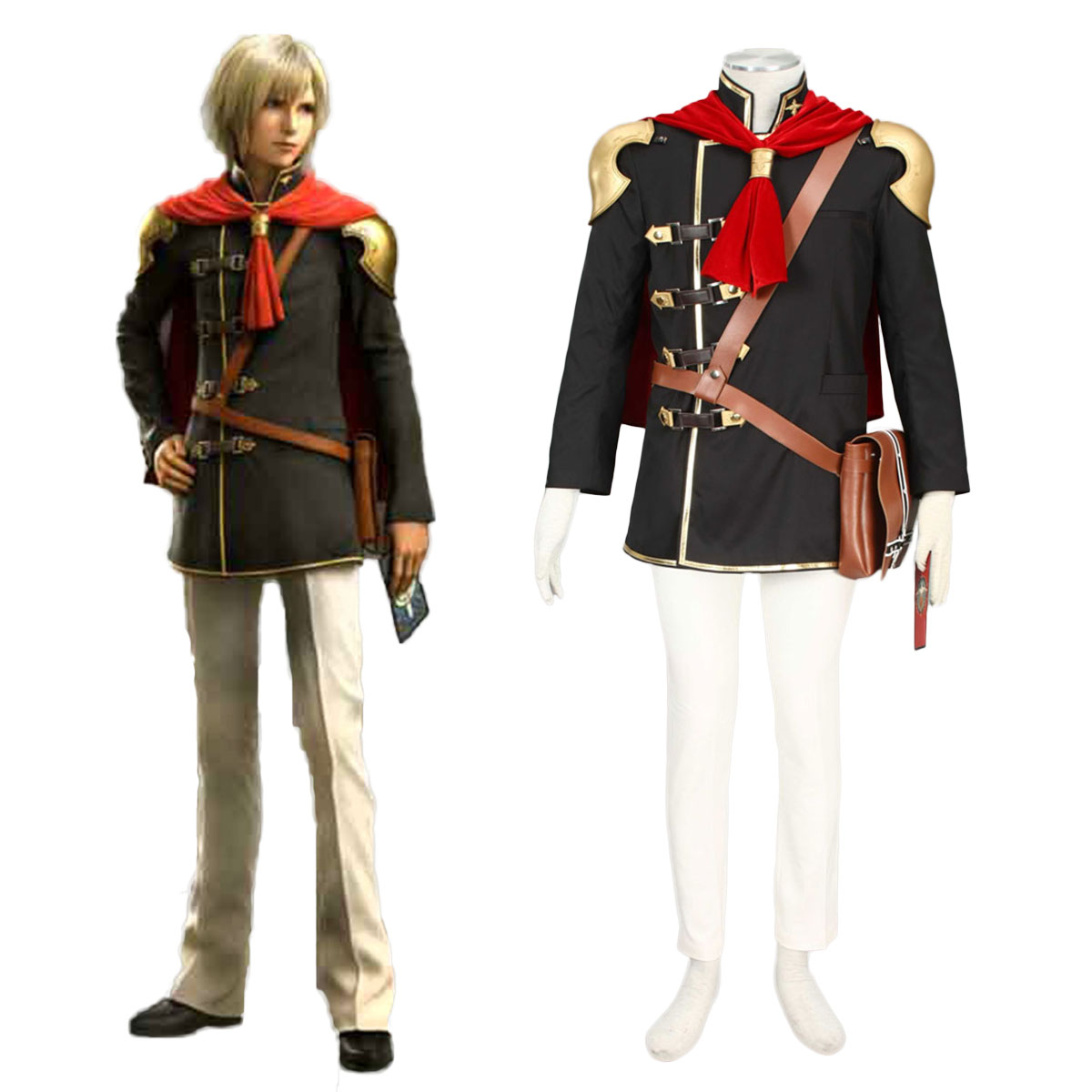 Final Fantasy Type-0 Ace 1 Cosplay Costumes AU