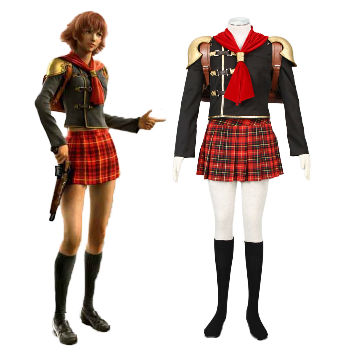 Final Fantasy Type-0 Cater 1 Cosplay Costumes AU