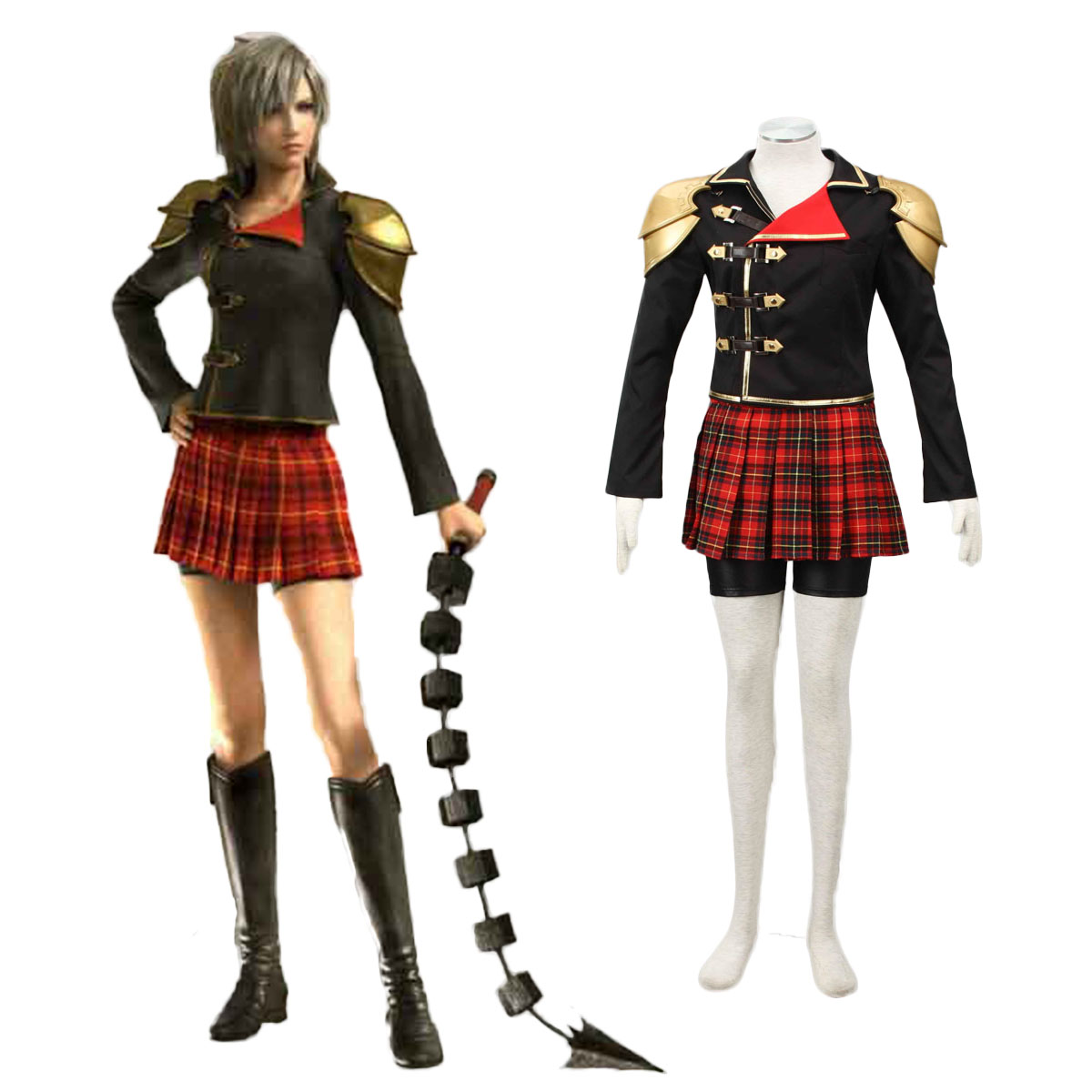 Final Fantasy Type-0 Seven 1 Cosplay Costumes AU