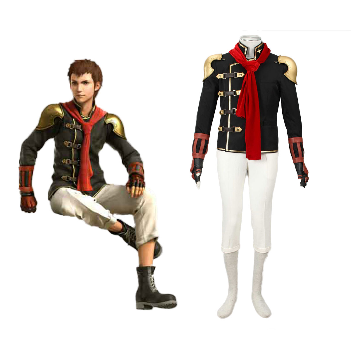 Final Fantasy Type-0 Eingt 1 Cosplay Costumes AU