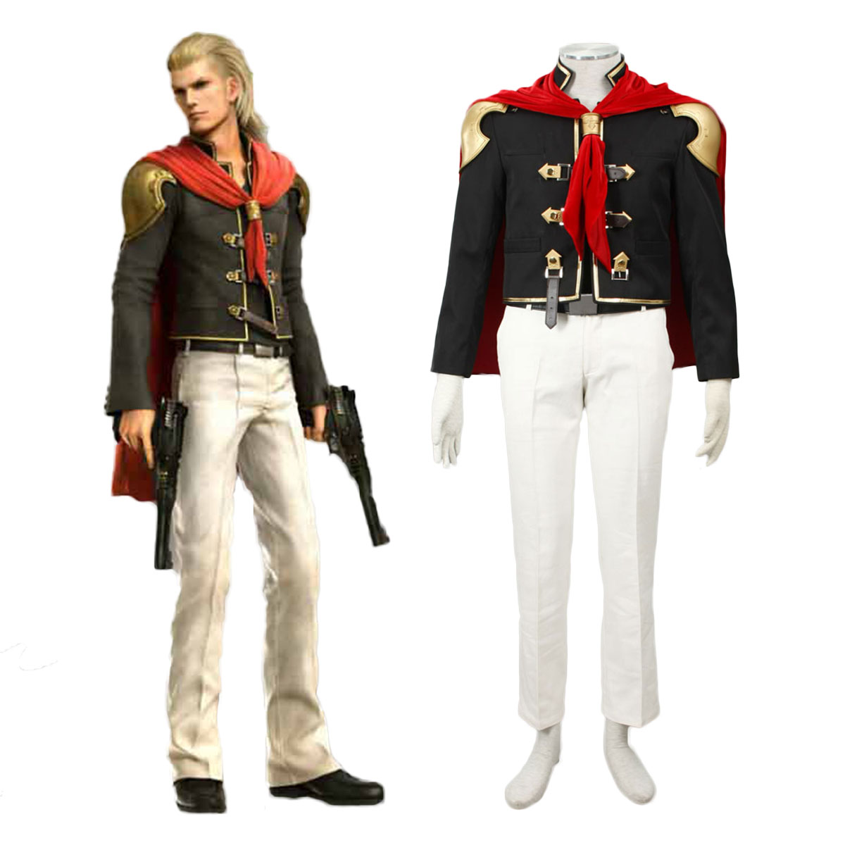 Final Fantasy Type-0 King 1 Cosplay Costumes AU