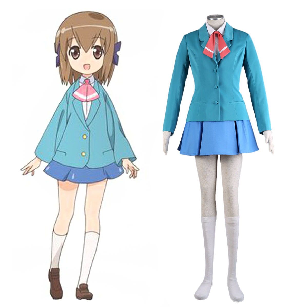 Place to Place Hime Haruno 1 Cosplay Costumes AU