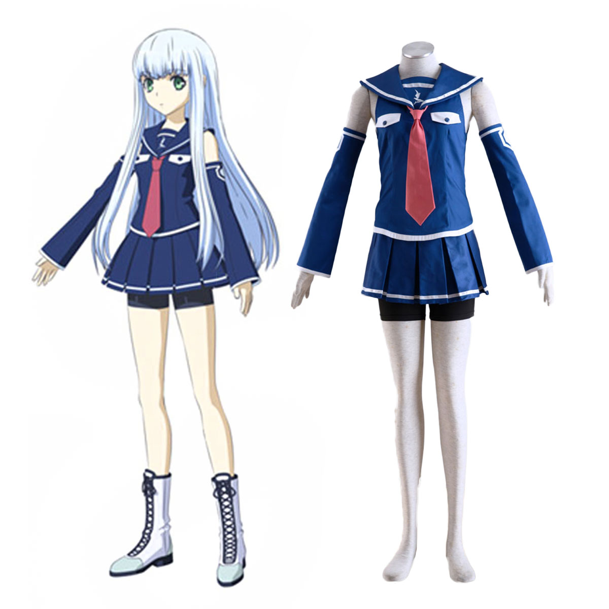 Arpeggio of Blue Steel Iona Cosplay Costumes AU