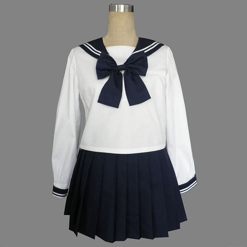 Long Sleeves Sailor Uniform 9 Cosplay Costumes AU