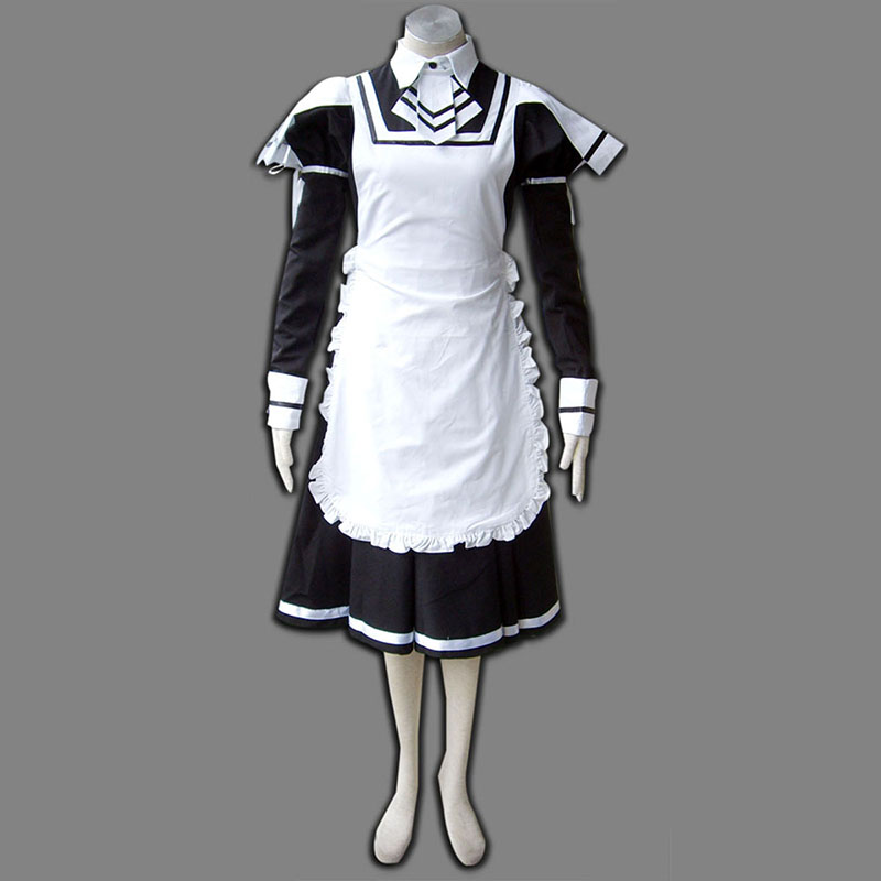 Maid Uniform 7 Deadly Weapon Cosplay Costumes AU