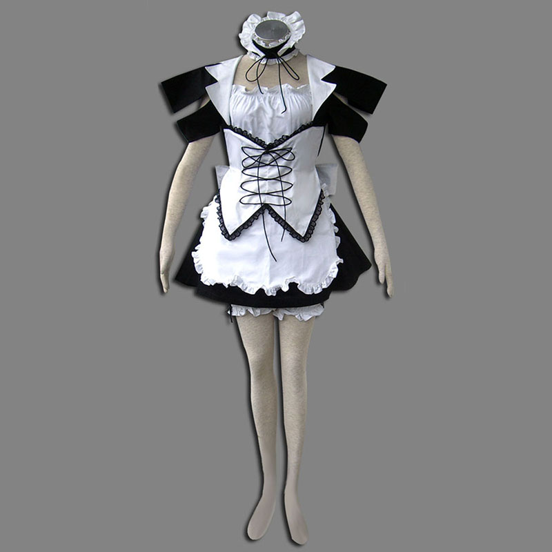 Maid Uniform 13 Wind Spirit Cosplay Costumes AU