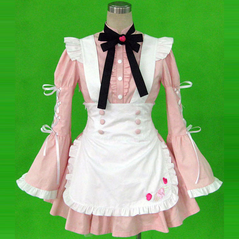 Maid Uniform 14 Cherry Snow Cosplay Costumes AU