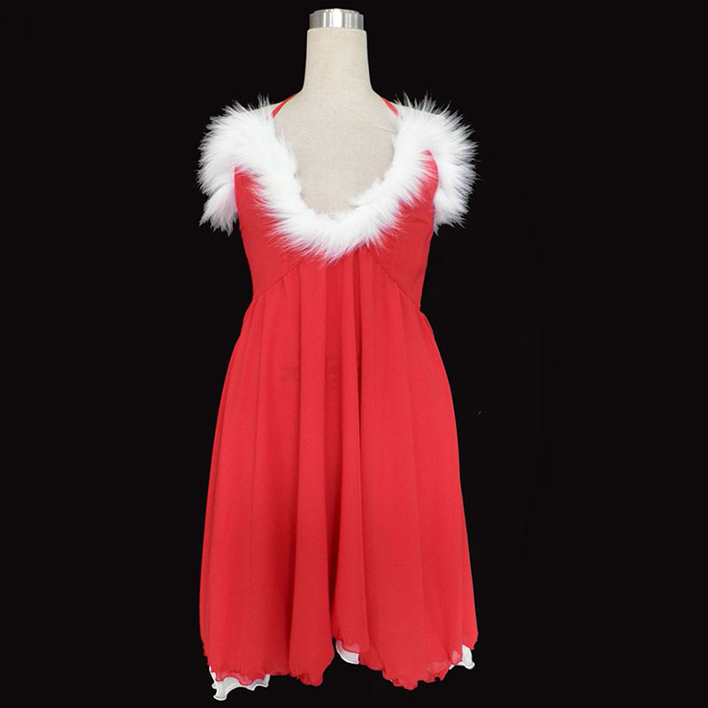 Christmas Lady Dress 3 Cosplay Costumes AU