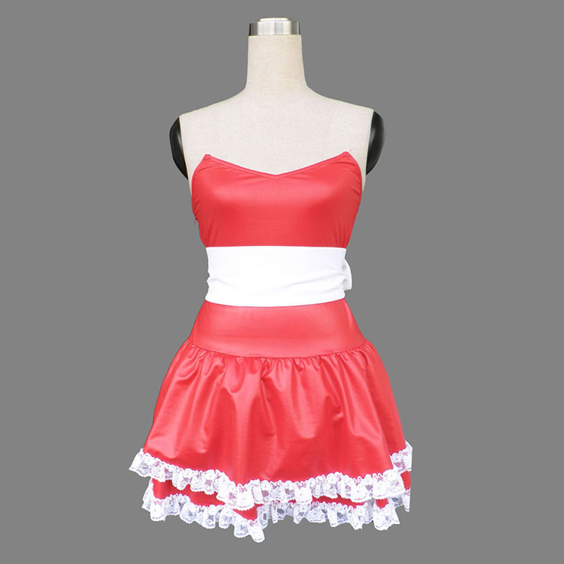 Christmas Bunny Rabbit Lady Dress 1 Cosplay Costumes AU