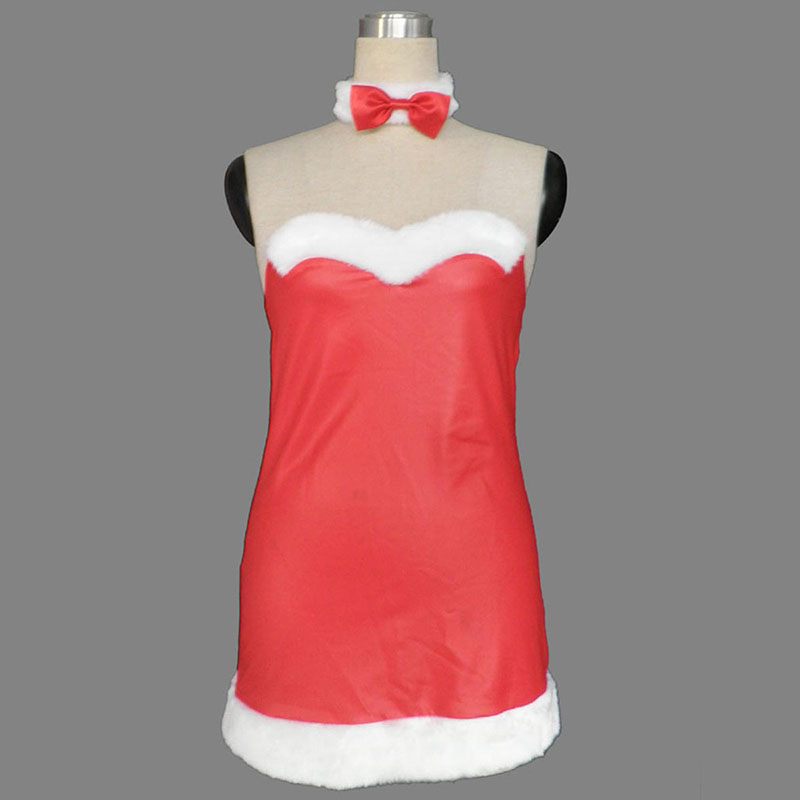 Christmas Bunny Rabbit Lady Dress 2 Cosplay Costumes AU