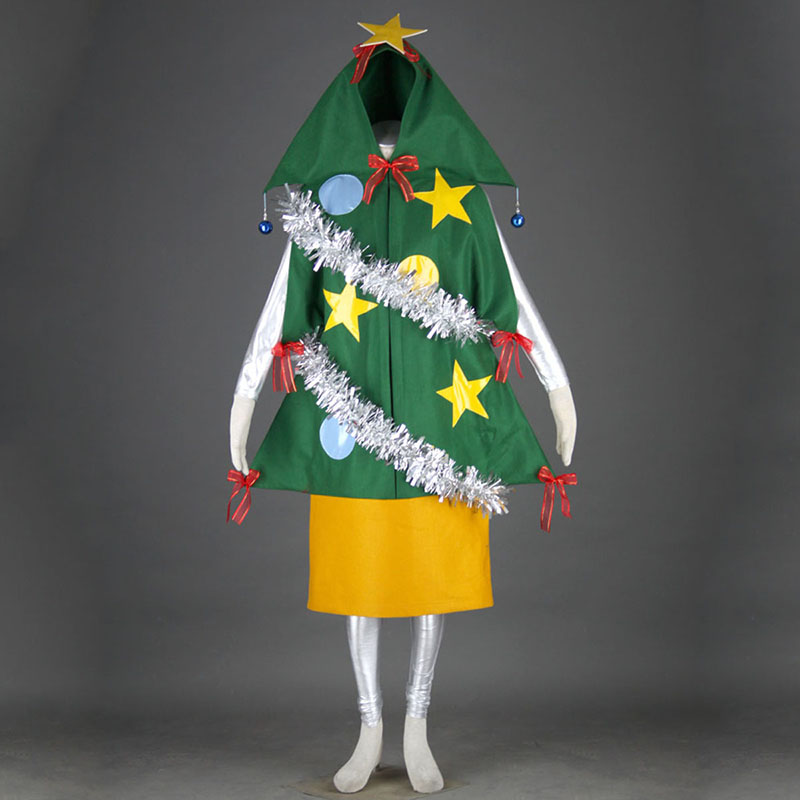 Christmas Tree 1 Cosplay Costumes AU