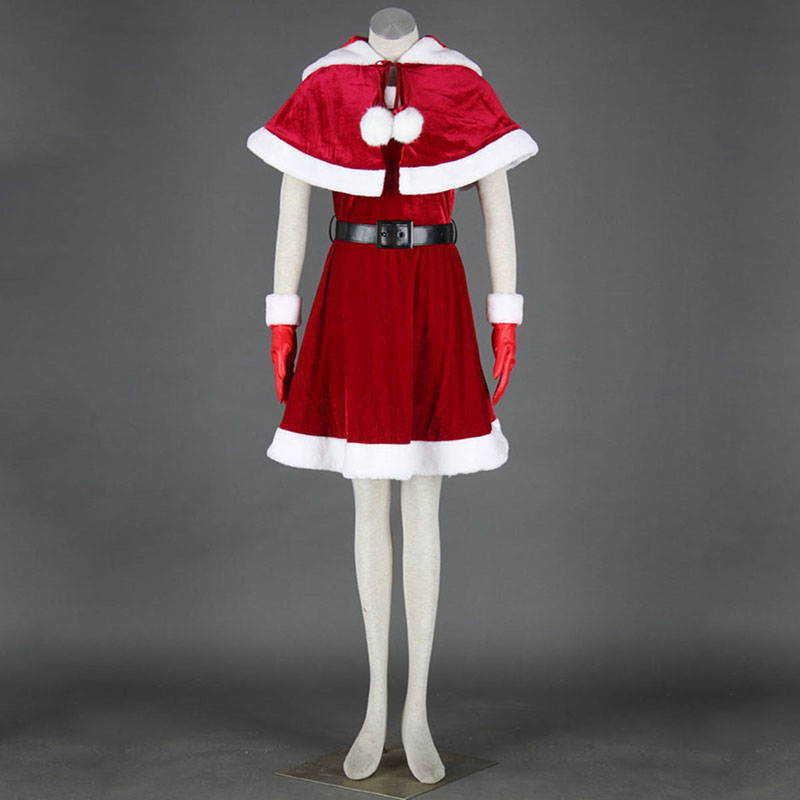 Christmas Lady Dress 11 Cosplay Costumes AU