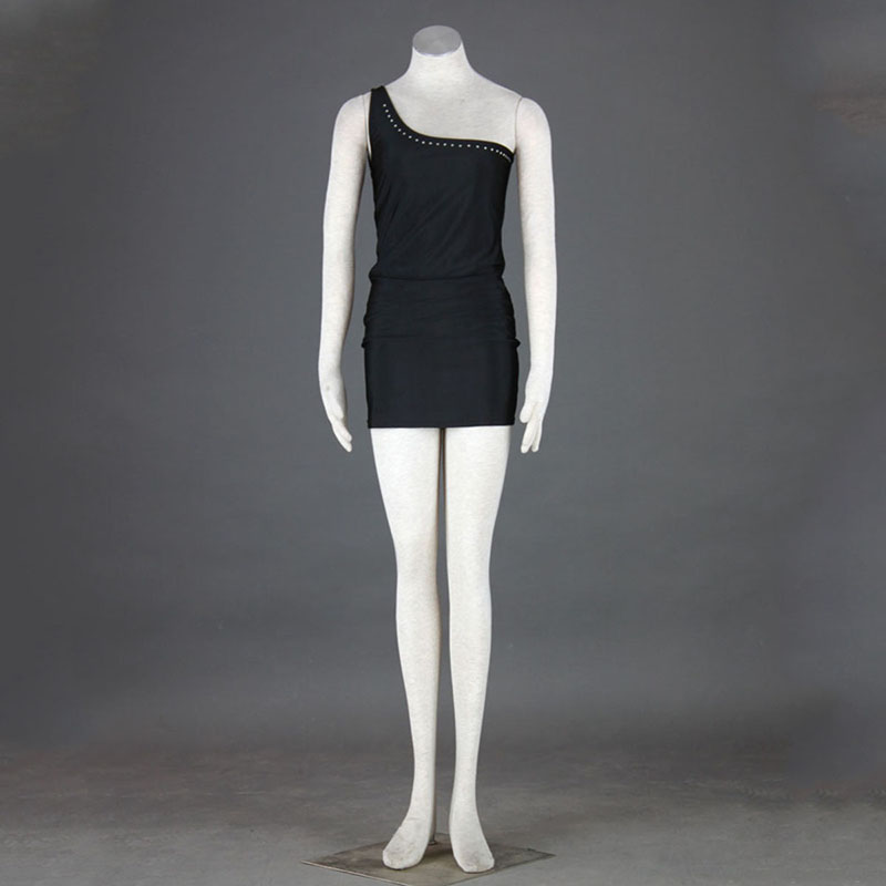 Nightclub Culture Black Sexy Evening Dress 4 Cosplay Costumes AU