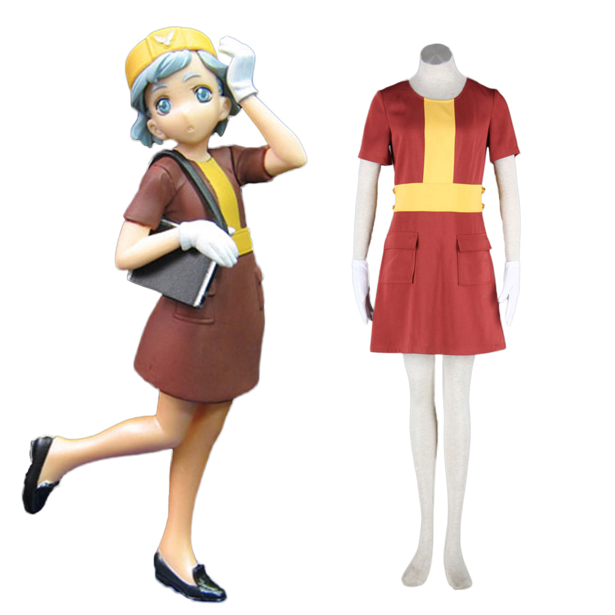 Aviation Uniform Culture Stewardess 4 Cosplay Costumes AU