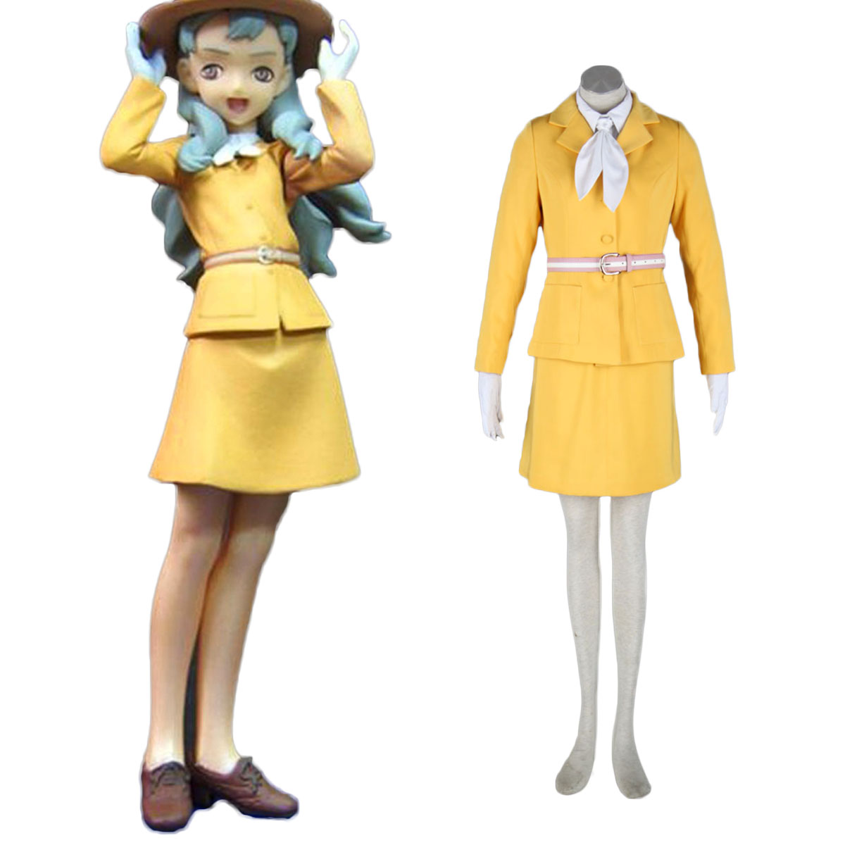 Aviation Uniform Culture Stewardess 5 Cosplay Costumes AU