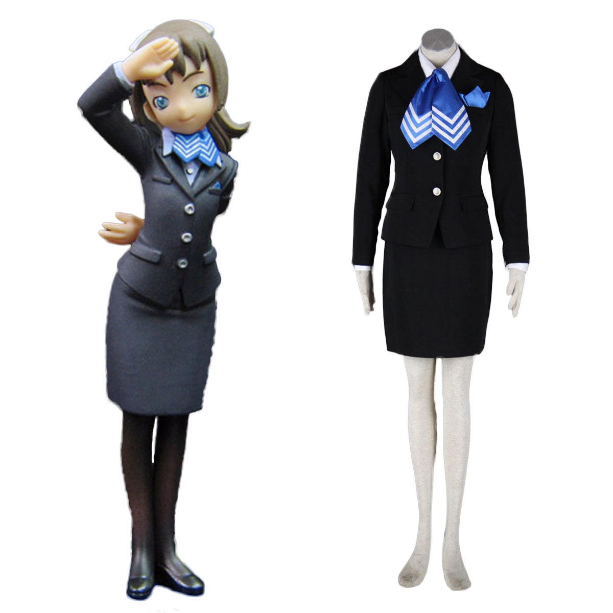 Aviation Uniform Culture Stewardess 10 Cosplay Costumes AU