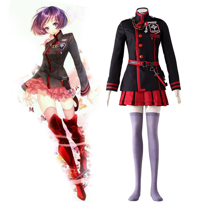 D.Gray-man Linali Lee 3 Cosplay Costumes AU