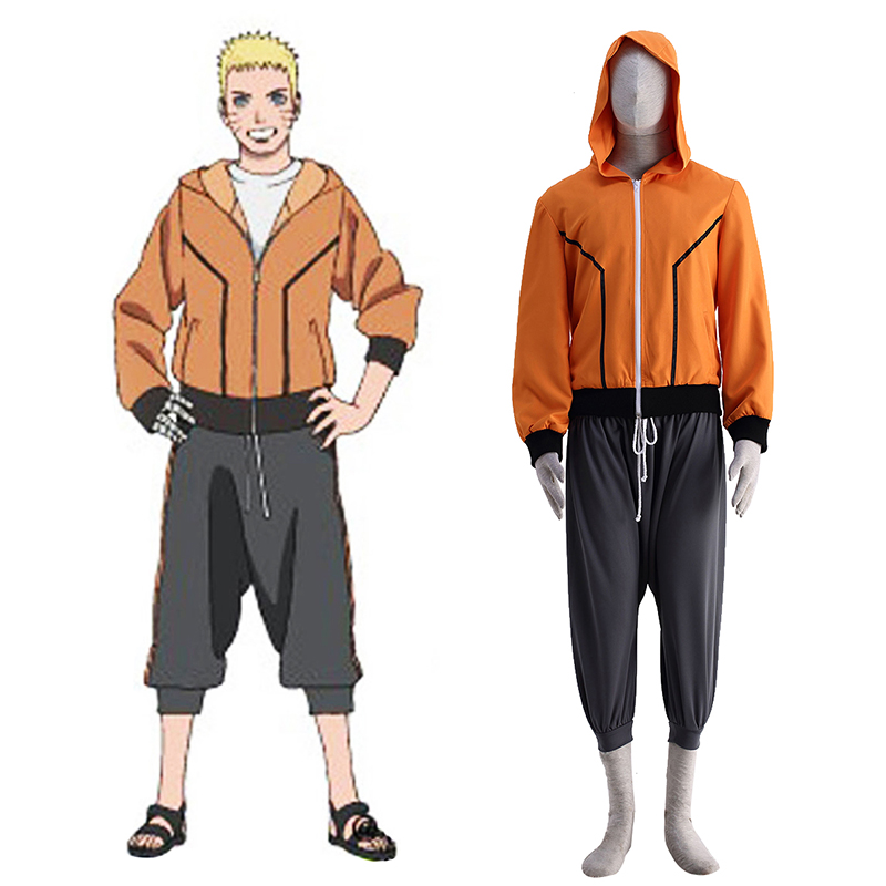 Naruto The Last Naruto 9 Cosplay Costumes AU