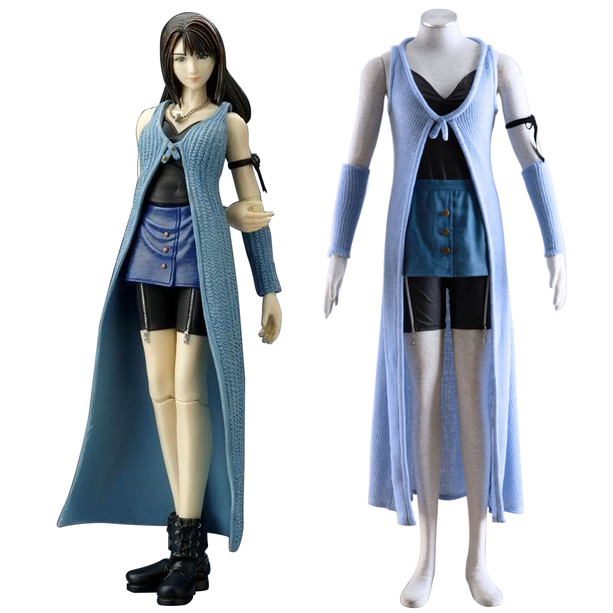 Final Fantasy VIII Rinoa Heartilly 1 Cosplay Costumes AU